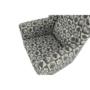 Kép 18/21 - ASTRID Fotel + puff,patchwork N1,  Fotel + puff,patchwork N1