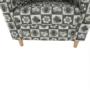 Kép 21/21 - ASTRID Fotel + puff,patchwork N1,  Fotel + puff,patchwork N1
