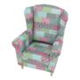 Kép 11/11 - CHARLOT Fotel,  patchwork M1