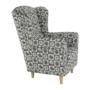 Kép 6/16 - CHARLOT Fotel,  patchwork N1