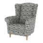Kép 7/16 - CHARLOT Fotel,  patchwork N1