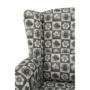 Kép 12/16 - CHARLOT Fotel,  patchwork N1