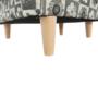 Kép 15/16 - CHARLOT Fotel,  patchwork N1
