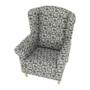 Kép 16/16 - CHARLOT Fotel,  patchwork N1