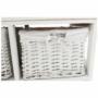 Kép 14/17 - RAFAELLO Komód - fa/vesszőfonás/szövet,  fehér [9]