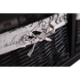 Kép 16/18 - SEAT Lóca párnával - 2 kosár,  sötétbarna/bézs/minta [BENCH 3]