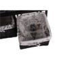 Kép 17/18 - SEAT Lóca párnával - 2 kosár,  sötétbarna/bézs/minta [BENCH 3]