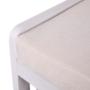 Kép 11/13 - RUBY1 Lóca fonott kosárral és párnával,  régi fehér