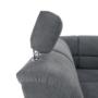 Kép 31/32 - SANTIAGO Szövet ülőgarnitúra ágyfunkcióval és ágyneműtartóval,bal oldali kivitel