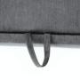 Kép 19/32 - SANTIAGO Kinyitható ülőgarnitúra - szürke szövet,  jobbos