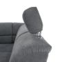 Kép 30/32 - SANTIAGO Kinyitható ülőgarnitúra - szürke szövet,  jobbos