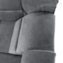 Kép 31/32 - SANTIAGO Kinyitható ülőgarnitúra - szürke szövet,  jobbos