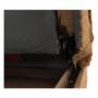 Kép 13/22 - ASIA Kanapé - kinyitható rakodótérrel,  szövet arany / minta [NEW]