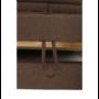 Kép 10/29 - CHRIS Sarok ülőgarnitúra,  barna / bézs