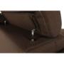 Kép 12/29 - CHRIS Sarok ülőgarnitúra,  barna / bézs