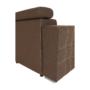 Kép 14/29 - CHRIS Sarok ülőgarnitúra,  barna / bézs