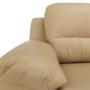 Kép 20/22 - VACO Ülőgarnitúra - sarok - kinyitható - J változat,  bőr + műbőr karamell