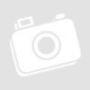 Kép 20/23 - OXFORD Sarokülőgarnitúra,  fehér textilbőr/szürke szövet