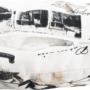 Kép 6/21 - KENY Fotel ágyfunkcióval és ágyneműtartóval,  barna/minta Paris 3