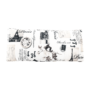 Kép 7/21 - KENY Fotel ágyfunkcióval és ágyneműtartóval,  barna/minta Paris 3