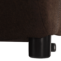 Kép 9/21 - KENY Fotel ágyfunkcióval és ágyneműtartóval,  barna/minta Paris 3