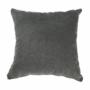 Kép 15/27 - KASTOR U alakú ülőgarnitúra - textilbőr fehér/ szövet szürke / pasztell rózsaszín,  bal oldali kivietl