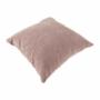Kép 17/27 - KASTOR U alakú ülőgarnitúra - textilbőr fehér/ szövet szürke / pasztell rózsaszín,  bal oldali kivietl