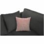 Kép 15/27 - KASTOR U alakú ülőgarnitúra,jobbos,  fehér textilbőr/szürke szövet/pasztell rózsaszín