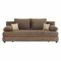 Kép 8/23 - Aria CLIV kanapé,  ágyfunkcióval és ágyneműtartóval [03 capuccino/bézs]