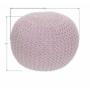 Kép 2/9 - GOBI Kötött puff púderrózsaszín pamut,  Kötött puff púderrózsaszín pamut [TIP 1]