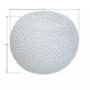 Kép 3/19 - GOBI Kötött puff krémes (fehér melír) pamut,  Kötött puff krémes (fehér melír) pamut [TIP 2]