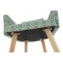 Kép 11/13 - DIPSY Dizájn fotel,  zöld minta