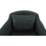 Kép 10/15 - DIPSY Dizajnové fotel,  szürke anyag/fa