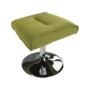 Kép 13/30 - LONATO Fotel zsámollyal,  zöld szín