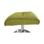 Kép 14/30 - LONATO Fotel zsámollyal,  zöld szín