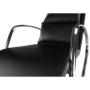 Kép 10/13 - ökobőr Hinta fotel,  Hinta fotel [fekete/króm,DORA]
