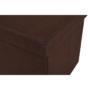Kép 12/17 - UMINA Összehajtható puff,  barna szövet
