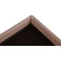 Kép 11/19 - ZAMIRA Összehajtható puff,  barna műbőr