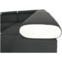 Kép 17/22 - MARBELA Sarokülőgarnitúra - fehér/fekete,  balos