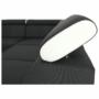 Kép 18/22 - MARBELA Sarokülőgarnitúra - fehér/fekete,  balos