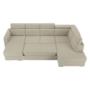 Kép 28/29 - MARIETA Luxus ülőgarnitúra - bézs/téglaszín,  jobbos kivitel [U]