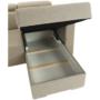 Kép 18/29 - MARIETA Luxus ülőgarnitúra - balos kivitelben,  bézs/téglaszín [U]