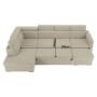 Kép 28/29 - MARIETA Luxus ülőgarnitúra - balos kivitelben,  bézs/téglaszín [U]