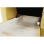 Kép 11/34 - MARIETA Luxus ülőgarnitúra - jobbos kivitel,  sárga/barna párnák [U]