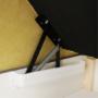 Kép 12/34 - MARIETA Luxus ülőgarnitúra - jobbos kivitel,  sárga/barna párnák [U]