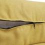 Kép 14/34 - MARIETA Luxus ülőgarnitúra - jobbos kivitel,  sárga/barna párnák [U]