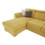 Kép 15/34 - MARIETA Luxus ülőgarnitúra - jobbos kivitel,  sárga/barna párnák [U]