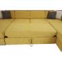 Kép 17/34 - MARIETA Luxus ülőgarnitúra - jobbos kivitel,  sárga/barna párnák [U]