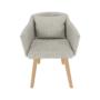 Kép 10/17 - DIPSY Dizájnos fotel,  bézs minta