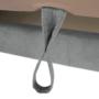 Kép 4/30 - LEGAS Sarokülőgarnitúra ágyfunkcióval - szürke,  balos